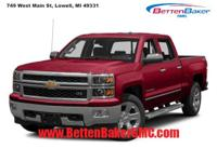 Options:  2015 Chevrolet Silverado 1500 4Wd Crew Cab