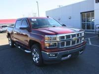 4WD, 2015 Chevrolet Silverado 1500LTZ in Deep Ruby