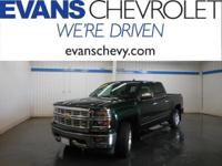 GM Certified!! LTZ Package!! Crew Cab!! 5.3 Liter V-8!!