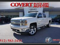 Drive home today in this 2015 Chevrolet Silverado LTZ