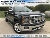 Options:  2015 Chevrolet Silverado 1500 Ltz|Black|Jet