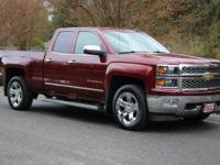 Clean CARFAX. Deep Ruby Metallic 2015 Chevrolet