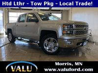 LTZ, 4x4, Leather, Bucket Seats, Heated Seats, Cooled