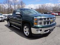 2015 Chevrolet Silverado 1500 LTZ Rainforest Green