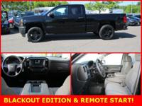BLACK OUT EDITION, REMOTE START, 20 BLACKOUT ALLOYS,