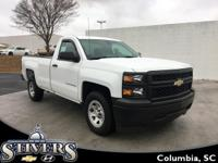 This 2015 Chevrolet Silverado W/T offers    *Automatic