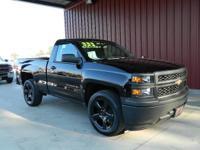 2015 SILVERADO 1500 REG CAB SHORT BED BLACKOUT 2WD,