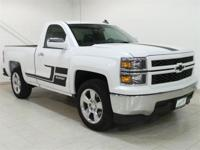 Summit White 2015 Chevrolet Silverado 1500 RWD 6-Speed