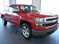 Options:  2015 Chevrolet Silverado 1500|Red|**Carfax 1