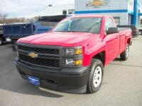 New Price! Victory Red 2015 Chevrolet Silverado 1500 WT