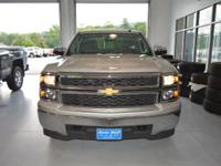 Options:  2015 Chevrolet Silverado 1500 Silver|Here At