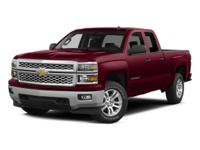CARFAX One-Owner. Black 2015 Chevrolet Silverado 1500