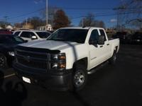 Silverado 1500 WT, 4D Double Cab, and 4WD. Your lucky