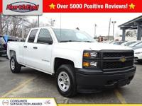 CARFAX One-Owner. Summit White 2015 Chevrolet Silverado