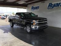 CARFAX One-Owner. Black 2015 Chevrolet Silverado 2500HD