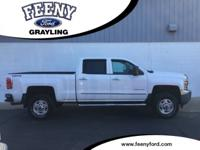 Summit White 2015 Chevrolet Silverado 2500HD LT 4WD
