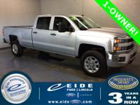 2015 Chevrolet Silverado 2500HD Crew Cab LT Highlighted