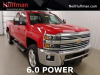 New Price! Victory Red 2015 Chevrolet Silverado 2500HD