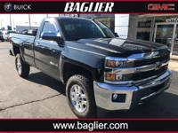 Located at Baglier Buick GMC. This Long Bed Regular Cab