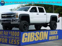 WWW.GIBSONTRUCKWORLD.COM 2014 Chevy Silverado 1500 LT