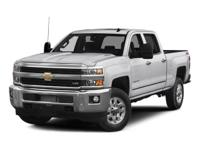Silverado 2500HD High Country, 4D Crew Cab, Vortec 6.0L