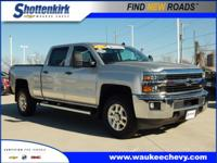 Options:  2015 Chevrolet Silverado 2500Hd Lt|4X4 Lt 4Dr