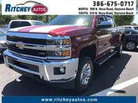 CERTIFIED PRE-OWNED 2015 CHEVY SILVERADO 2500 HD LTZ