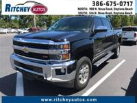 CERTIFIED PRE-OWNED 2015 CHEVY SILVERADO 2500HD LTZ 4WD