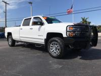 Come see this 2015 Chevrolet K2500 LTZ. Its Automatic
