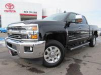 This 2015 Chevrolet Silverado comes equipped with
