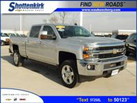Options:  2015 Chevrolet Silverado 2500Hd Ltz|4X4 Ltz