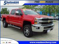 Options:  2015 Chevrolet Silverado 2500Hd Ltz 4X4 Ltz