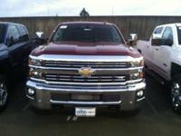 4WD and Black Leather. Diesel! Turbo! Duramax Plus