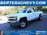 **ONE OWNER/CLEAN CARFAX** 4x4 Regular Cab, 6.0 L,