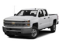 2015 Chevrolet Silverado 2500HD Work Truck 6.0L