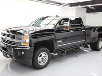 2015 Chevrolet Silverado 3500 with Duramax 6.6L
