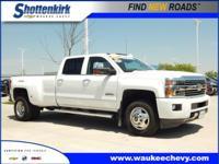 Options:  2015 Chevrolet Silverado 3500Hd High