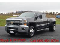 2015 Chevrolet Silverado 3500HD LTZ in Slate Gray