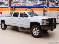 2015 Chevrolet 3500HD LTZ 4X4  WHITE 2015 CHEVY 3500HD