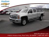 This muscular Silverado 3500HD, with its grippy 4WD,