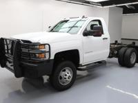 This awesome 2015 Chevrolet Silverado 3500 4x4 comes