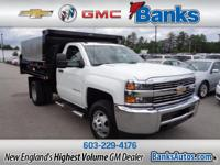 2015 Chevrolet Silverado 3500HD Summit White. CARFAX