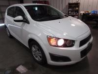 Just Reduced! 2015 Chevrolet Sonic LT White 2015