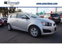 Options:  2015 Chevrolet Sonic Lt Auto|Lt Auto 4Dr