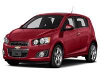 Options:  2015 Chevrolet Sonic Lt|Miles: 41216Stock