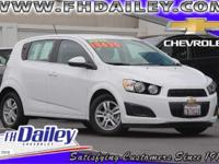 Options:  2015 Chevrolet Sonic Lt White Qualifies For
