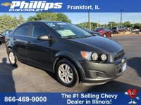 Charcoal 2015 Chevrolet Sonic LT FWD 6-Speed Automatic