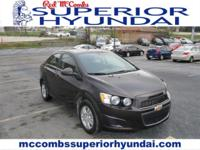 Sturdy and dependable, this Used 2015 Chevrolet Sonic