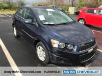 Chevrolet Sonic  Clean CARFAX. CARFAX One-Owner.