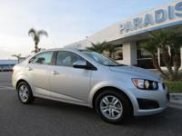 Options:  2015 Chevrolet Sonic 4Dr Sdn Auto Lt|Front